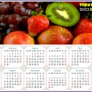 2022 Magnetic Calendar - Calendar Magnets - Today is my Lucky Day - Edition #40