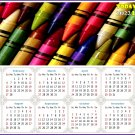 2022 Magnetic Calendar - Calendar Magnets - Today is my Lucky Day - Edition #42