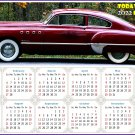 2022 Magnetic Calendar - Calendar Magnets - Today is my Lucky Day - Cars Edition #47