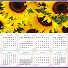 2022 Magnetic Calendar - Calendar Magnets - Today is My Lucky Day - Sunflowers