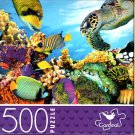 Colorful Coral Reef - 500 Piece Jigsaw Puzzle for Age 14+