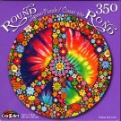 Peace and Love - 350 Round Piece Jigsaw Puzzle for Age 14+