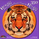 Beautiful Tiger - 350 Round Piece Jigsaw Puzzle for Age 14+