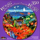 Amazing Color Reef - 350 Round Piece Jigsaw Puzzle for Age 14+