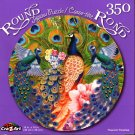 Peacock Paradise - 350 Round Piece Jigsaw Puzzle for Age 14+