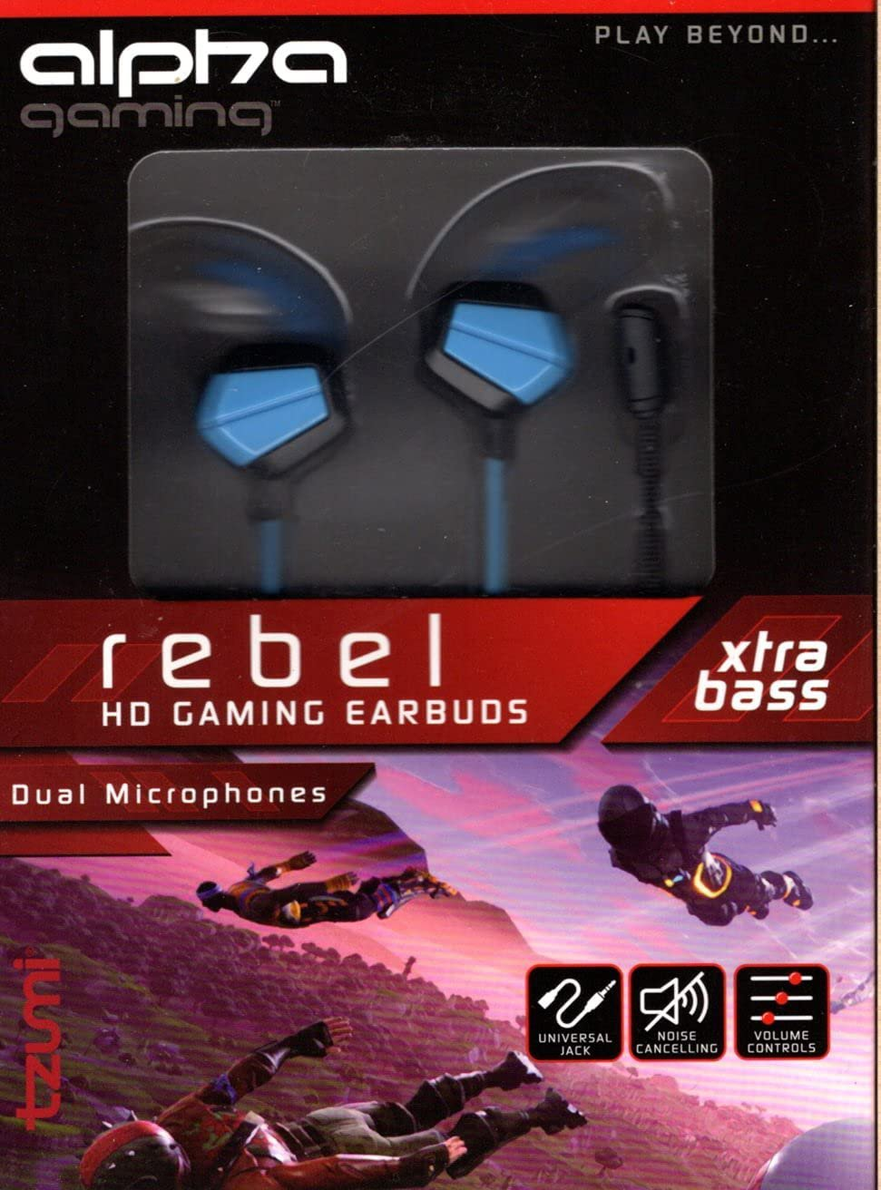 TZUMI Alpha Gaming Earbuds T7