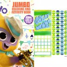 Vivo - Jumbo Coloring & Activity Books + Award Stickers and Charts