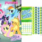 My Little Pony - Smile Every pony! - Jumbo Coloring & Activity Books + Award Stickers and Charts
