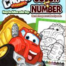Tonka Chuck & Friends - Color by Number Coloring Book