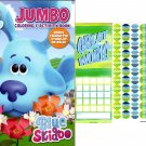 Blue's Clues & You - Jumbo Coloring & Activity Book + Award Stickers and Charts - Blue Skidoo!