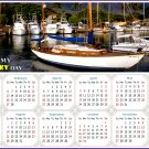 2022 Magnetic Calendar - Calendar Magnets - Today is my Lucky Day - Edition #49