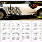 2022 Magnetic Calendar - Calendar Magnets - Today is my Lucky Day - Cars Edition #50