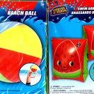 Splash-N-Swim - Splash-N-Swim - Beach Ball 20 in & Swim Arm Bands 1 pair (Set of 2) v2