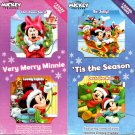 Disney Mickey & Friends - Be Jolly & Deck The Halls, Christmas Spirit & Lovely Lights
