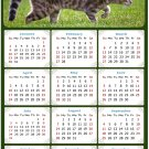 2022 Magnetic Calendar - Calendar Magnets - Today is My Lucky Day - Cat Themed 09 (7 x 10.5)