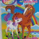 Lisa Frank coloring & Activity Book ~ 96 Pages (Horse & Colt Cover)~ Fun with Friends