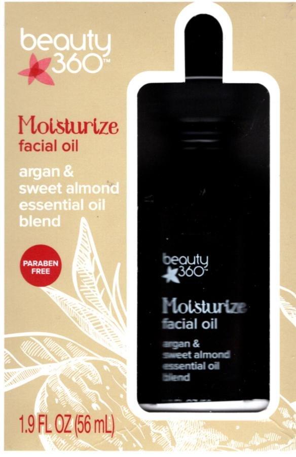 Beauty 360 Replenish Facial Oil Rosemary & Borage Essential Oil Blend 1.9oz