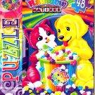 Liza Frank Rainbow Matinee - Fresh Pop Corn - 48 Pieces Jigsaw Puzzle