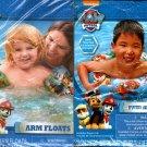 Nickelodeon Paw Patrol - Swim Ring + Arm Floats Includes Repair Kit (Set of 2)
