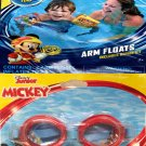 """Disney Junior Mickey and the Roadster - 5.8"""" Arm Floats + Swim Goggles Set of 2"""