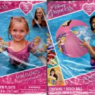 Disney Princess - Swim Arm Floats + Beach Ball (Set of 2)