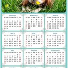 2022 Magnetic Calendar - Calendar Magnets - Today is My Lucky Day - Dogs Themed 06 (7 x 10.5)