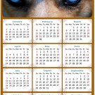 2022 Magnetic Calendar - Calendar Magnets - Today is My Lucky Day - Dogs Themed 03 (7 x 10.5)