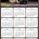 2022 Magnetic Calendar - Calendar Magnets - Today is My Lucky Day - Dogs Themed 02 (7 x 10.5)