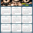 2022 Magnetic Calendar - Calendar Magnets - Today is My Lucky Day - Dogs Themed 08 (8 x 5.25)