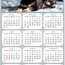 2022 Magnetic Calendar - Calendar Magnets - Today is My Lucky Day - Dogs Themed 010 (7 x 10.5)