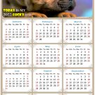 2022 Magnetic Calendar - Calendar Magnets - Today is My Lucky Day - Dogs Themed 012 (7 x 10.5)