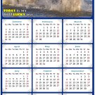 2022 Magnetic Calendar - Calendar Magnets - Today is My Lucky Day - Horses Themed 08 (7 x 10.5)