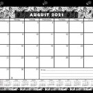 2021-2022 Academic Year 12 Months Student Calendar/Planner, Desk or Wall, Use -v010