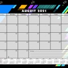 2021-2022 Academic Year 12 Months Student Calendar/Planner -v012