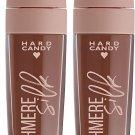 Hard Candy Cashmere Silk Demi-Matte Lip, 1320 Biscotti (Light Brown) (Set of 2)
