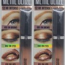 Hard Candy Metal Glaze Liquid Foil 1285 Rose Gold - Brows, Eyes, and Lips (Set of 2)