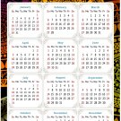 2022 Magnetic Calendar - Calendar Magnets - Today is My Lucky Day - Themed 07 (5.25 x 8)
