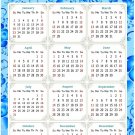 2022 Magnetic Calendar - Today is My Lucky Day - Themed 041 (5,25 x 8)