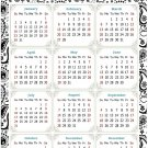 2022 Magnetic Calendar - Today is My Lucky Day - Themed 040 (5,25 x 8)