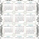 2022 Magnetic Calendar - Today is My Lucky Day - Themed 039 (5,25 x 8)