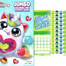 Zuru - Jumbo Coloring & Activity Books + Award Stickers and Charts