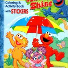 Sesame Street - Coloring & Activity Book with Stickers - Rain on Shine