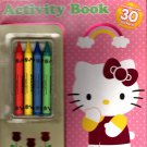 Hello Kitty - Coloring & Activity Book over 30 Stickers Included