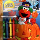 Sesame Street - Halloween with Elmo - Coloring & Activity Book with Stickers