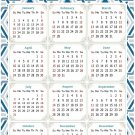2022 Magnetic Calendar - Today is My Lucky Day - Themed 038 (5,25 x 8)
