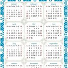 2022 Magnetic Calendar - Today is My Lucky Day - Themed 037 (5,25 x 8)