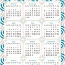 2022 Magnetic Calendar - Today is My Lucky Day - Themed 036 (5,25 x 8)