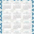 2022 Magnetic Calendar - Today is My Lucky Day - Themed 035 (5,25 x 8)