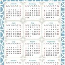 2022 Magnetic Calendar - Today is My Lucky Day - Themed 033 (5,25 x 8)