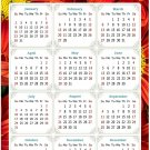 2022 Magnetic Calendar - Today is My Lucky Day - Themed 031 (5,25 x 8)